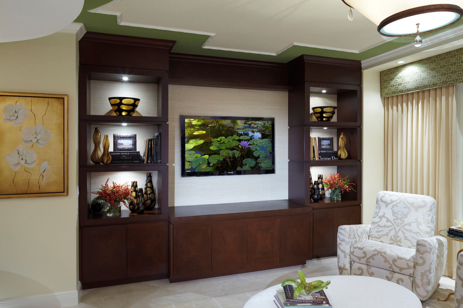 TOP 21 Living room lcd tv wall unit design ideas ... on Living Room Wall Units id=40181