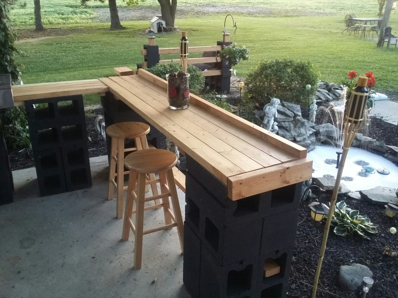 Diy outdoor bar designs - 20 ways to add cool additions to ... on Patio With Bar Ideas id=46862