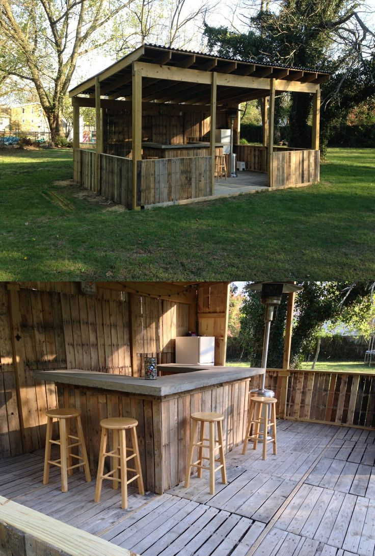 Portable outdoor bar designs makes a perfect addition ... on Small Backyard Bar Ideas id=12351