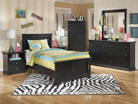 black twin bedroom furniture - interior design