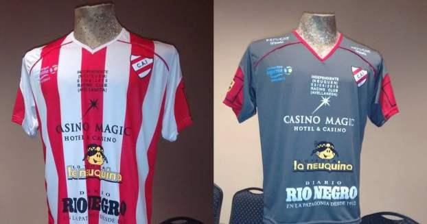 Camisetas de Independiente de Neuquén Copa Argentina