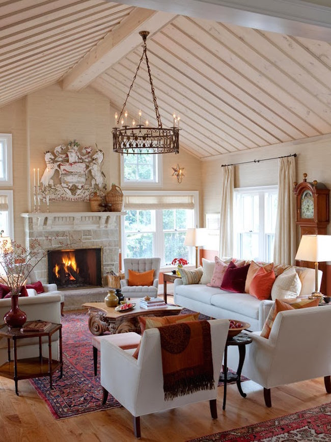 Homey Farmhouse Living Room Designs To Steal Interior God