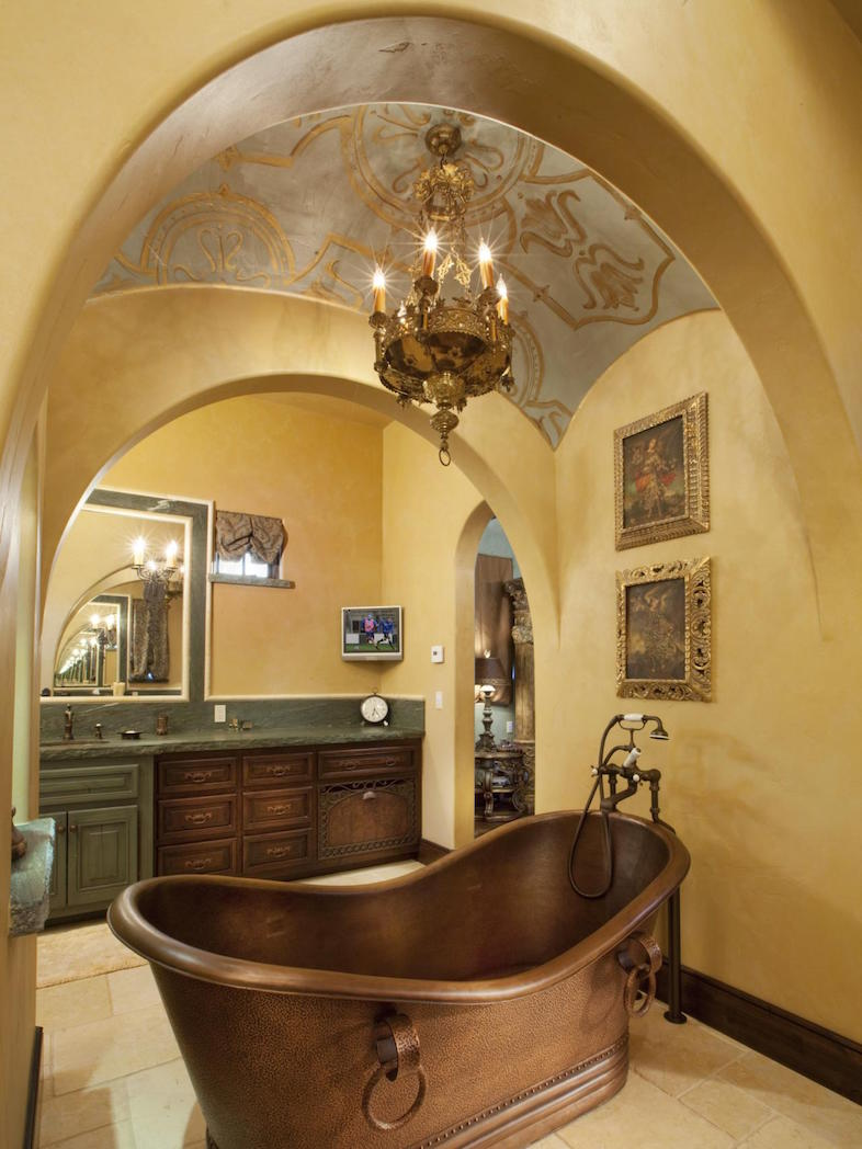 23 Elegant Mediterranean Bathroom Design Ideas Interior God