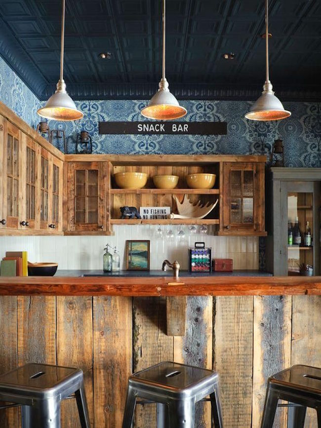 20 Rustic Home Bar Designs For The Best Parties Interior God