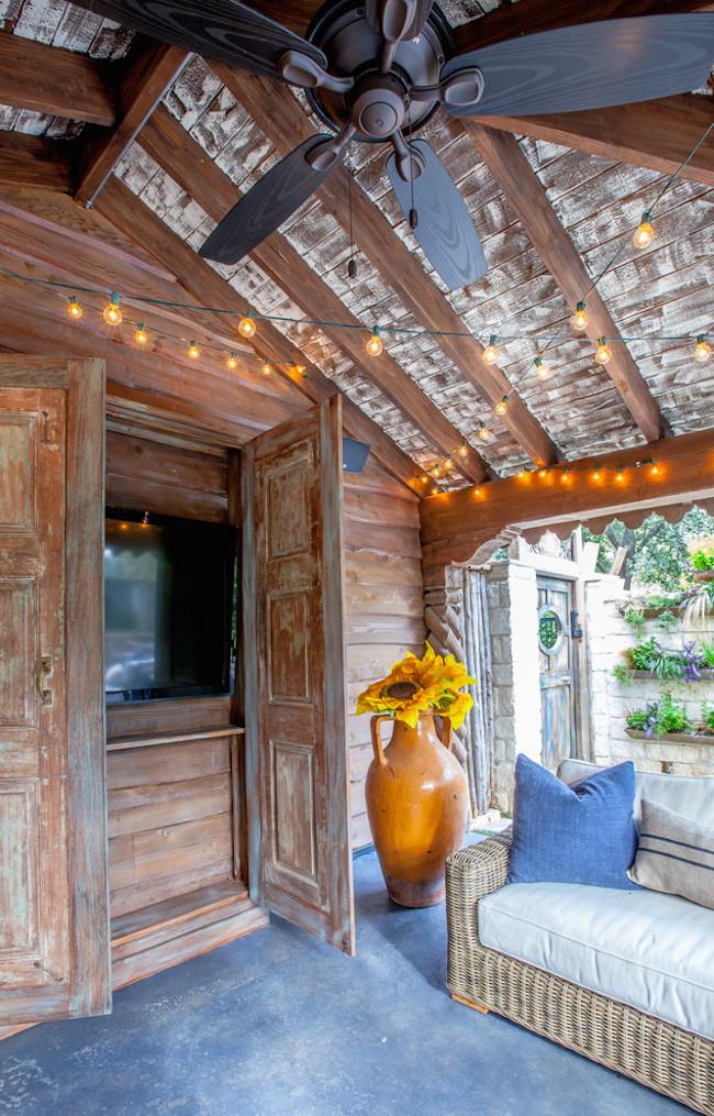 20 Comfy Rustic Patio Designs Interior God