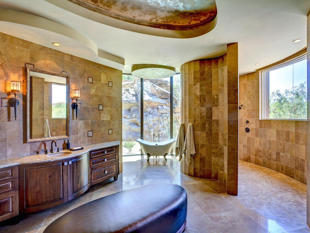20 Rich Southwestern Bathroom Designs To Inspire You