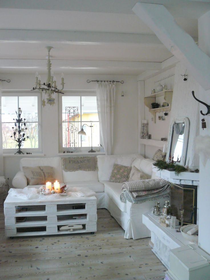 25 Charming Shabby Chic Living Room Designs | Interior God