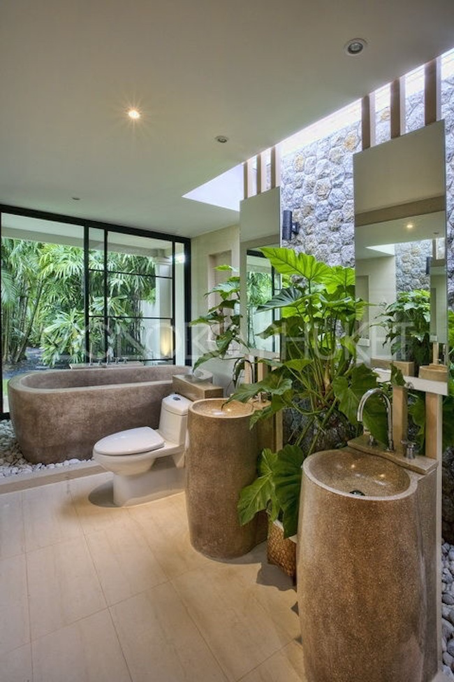 There's a perfect bedroom here for every style of home. 23 Stunning Tropical Bathroom Design Ideas   Interior God