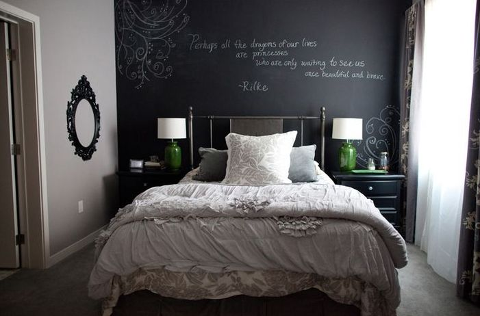 27 Awesome Chalkboard Bedroom Ideas You Ll Love Interior God