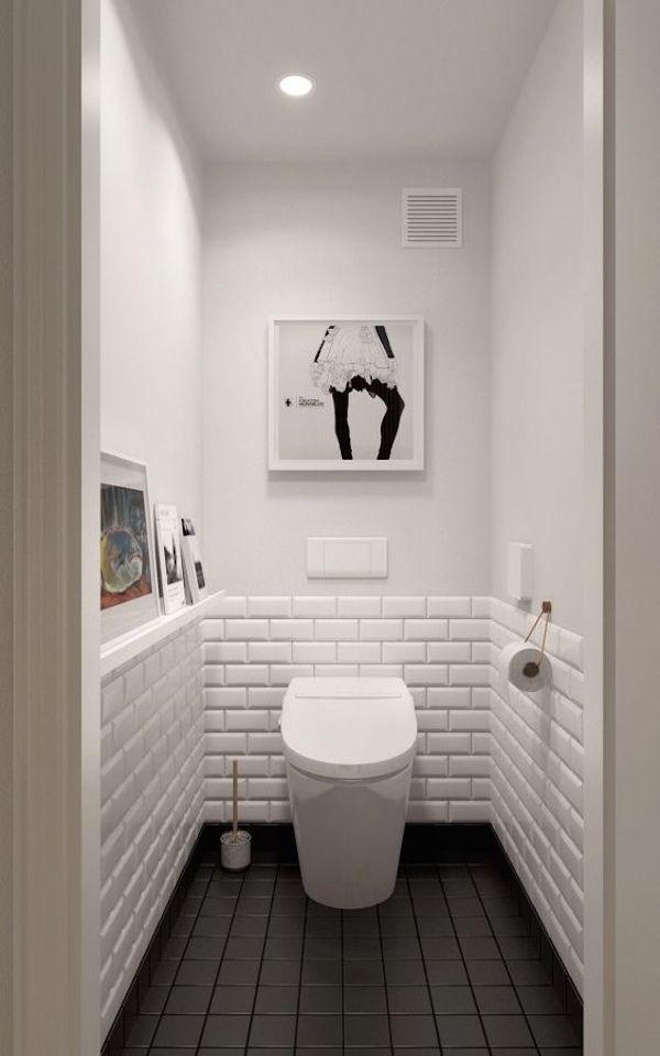 34 Classic Black And White Bathroom Design Ideas ... on Contemporary:kkgewzoz5M4= Small Bathroom Ideas  id=76431