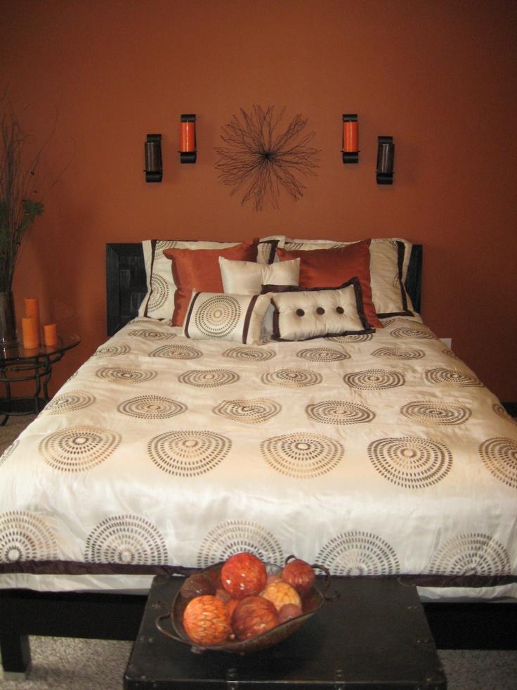 25 Sleek Orange Accents Bedroom Ideas Interior God