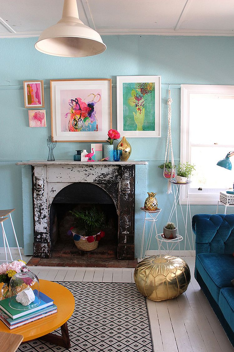 39 Bright And Colorful Living Room Designs   Interior God on Colourful Living Room  id=88708