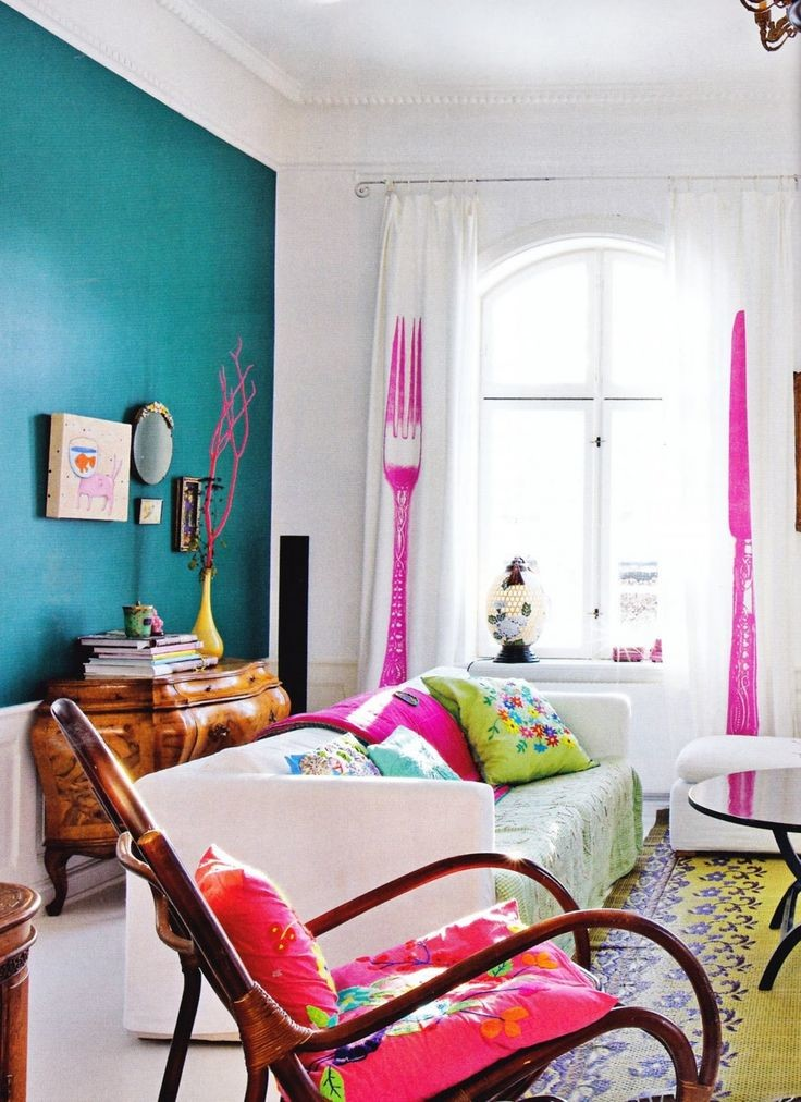 39 Bright And Colorful Living Room Designs   Interior God on Colourful Living Room  id=17653