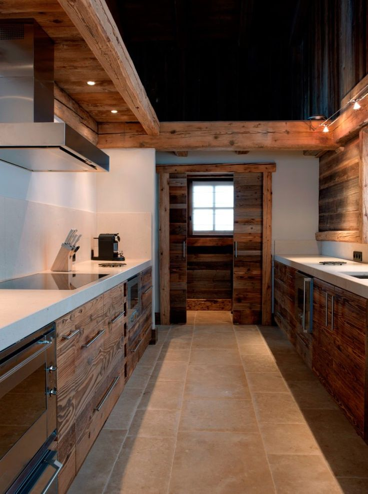 32 Fabulous Chalet Kitchen Designs To Get Inspired