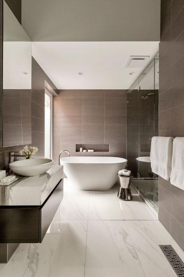27 Relaxing Beige Bathroom Design Ideas | Interior God on Modern:kkgewzoz5M4= Small Bathroom  id=49003