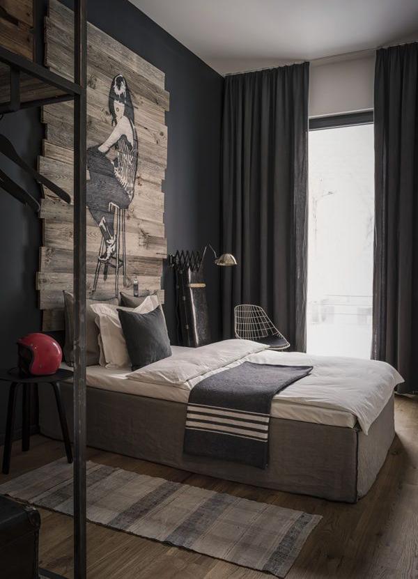 27 Stylish Bachelor Pad Bedroom Ideas For Men   Interior God on Room Decir  id=37339