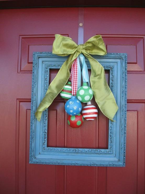 37 Beautiful Christmas Front Door Decor Ideas Interior God