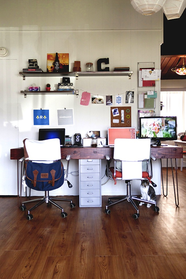 20 Shared Home Office Ideas That Are Functional Interior God