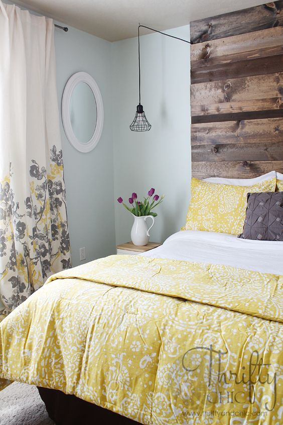 21 Grey and Yellow Bedroom Designs To Amaze You | Interior God on Cool:gixm0H5Sni4= Bedroom Ideas  id=86032