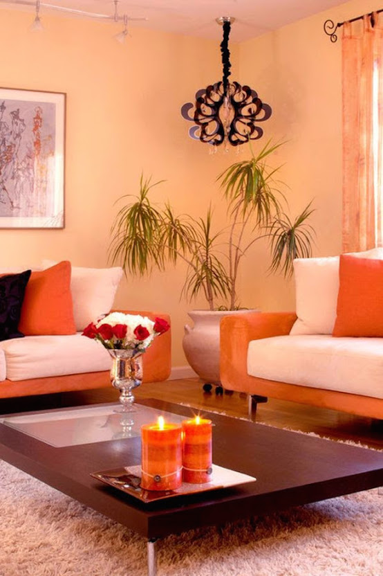 15 Orange Living Room Design Ideas You Can T Miss
