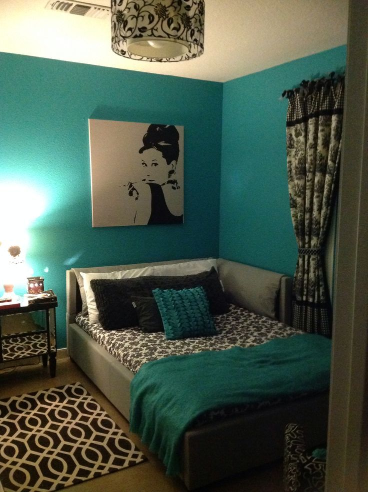 17 Turquoise And Black Bedroom Ideas For Your Home ... on Cheap:l2Opoiauzas= Bedroom Ideas  id=82707