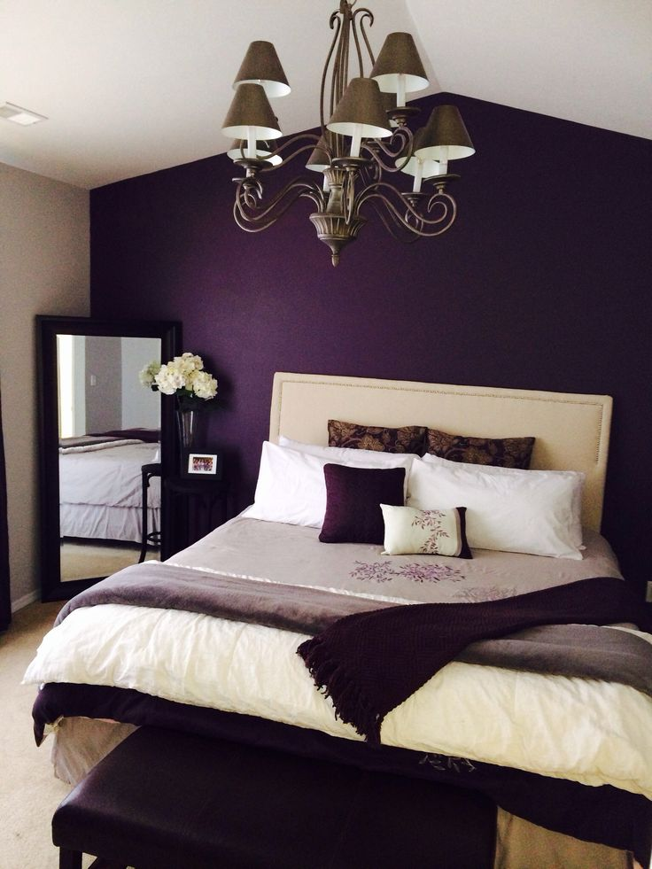 21 Stunning Purple Bedroom Designs For Your Home ... on Bedroom Decor  id=23550
