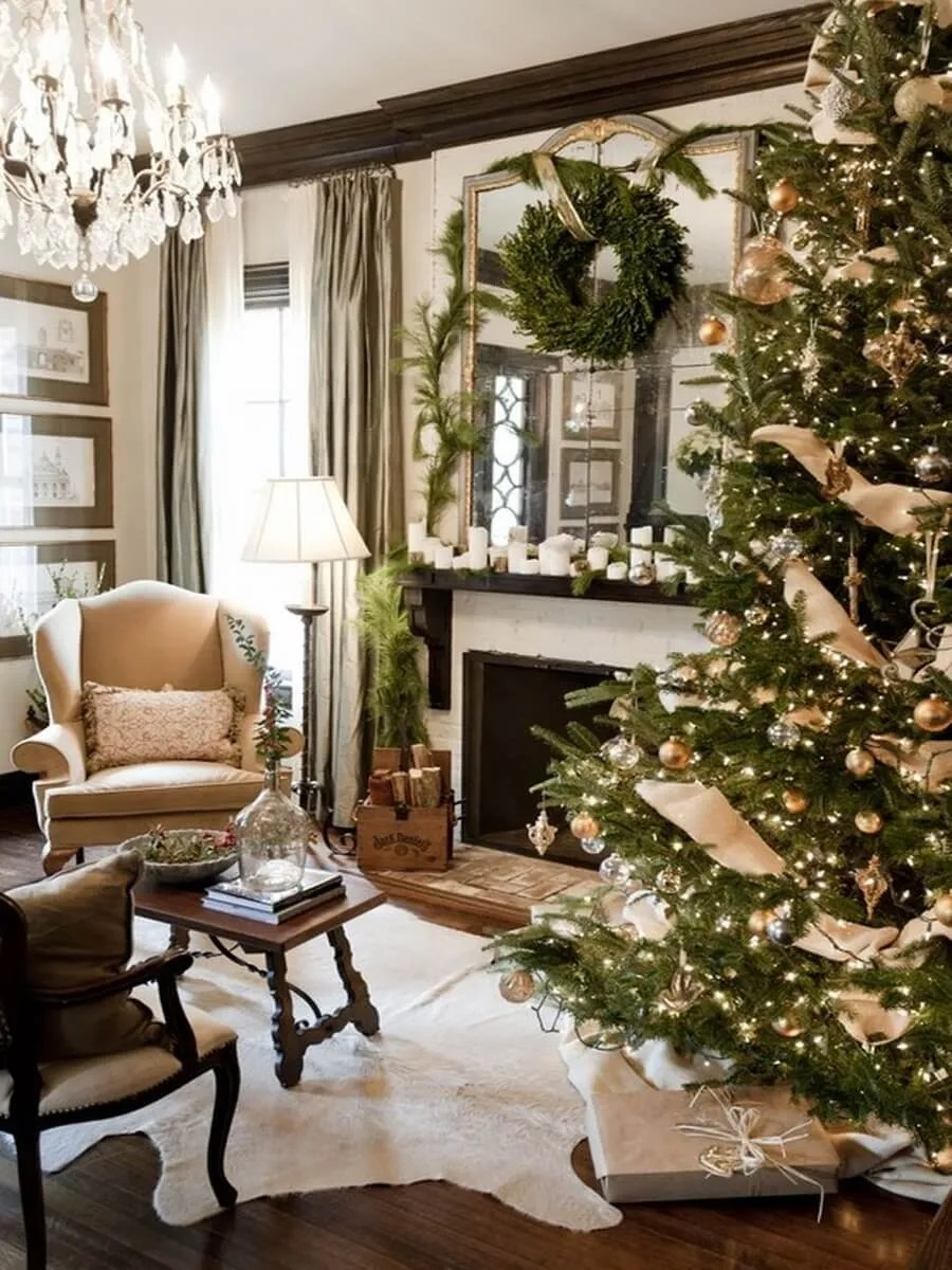 Gorgeous, Warm and Inviting Christmas Decor for Your ... on Room Decoration  id=69574