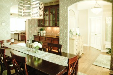After: Dining Chandelier