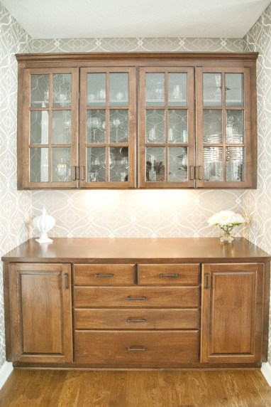 After: Dining Room Hutch