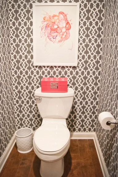 After: Powder Room