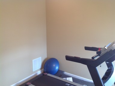 Before: Exercise room to Office