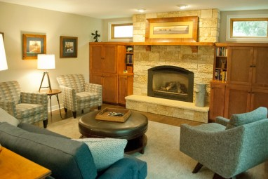 After: All new furnishings and sensitive design