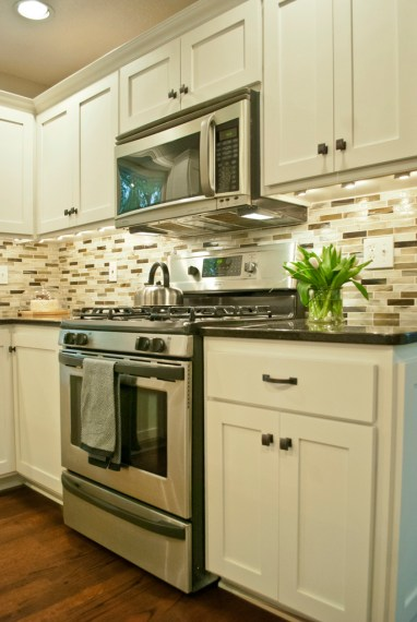 After: Existing appliances even look new