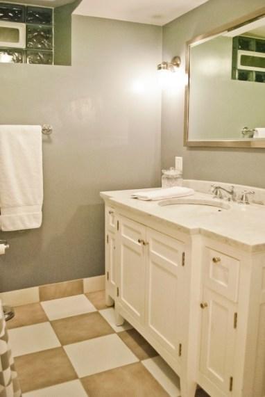 After: Basement Bath