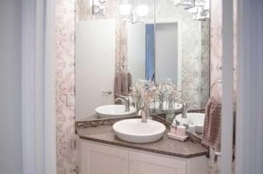 After - Powder Room Vanity