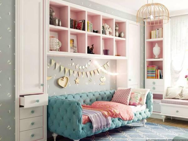 Красивый интерьер детской комнаты с мебелью Rondini Home ...
