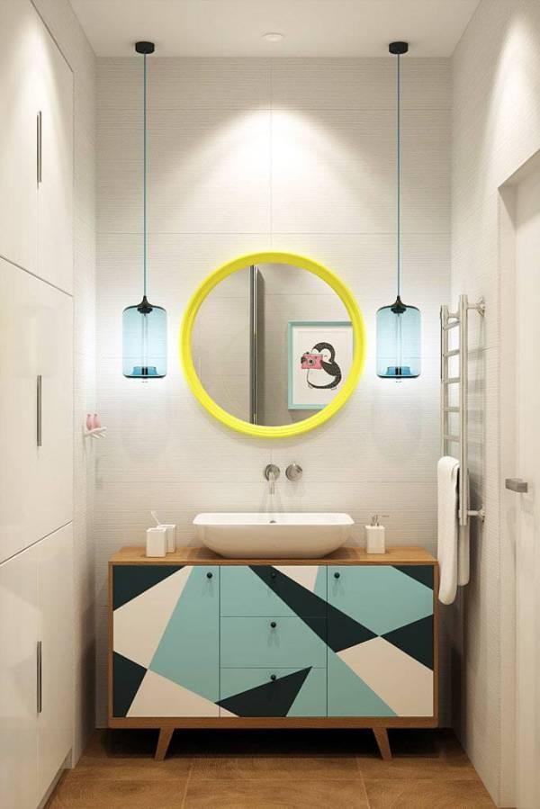 Проект интерьера однокомнатной квартиры от Geometrium