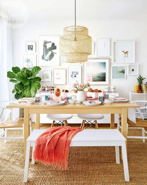 Новогодний дизайн дома в тропическом стиле   Фото красивых ...