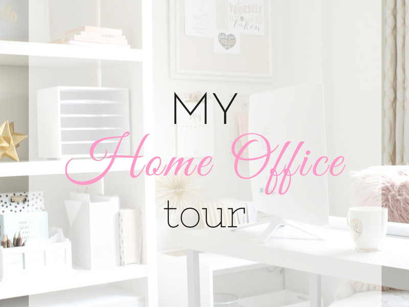 My Home Office Tour