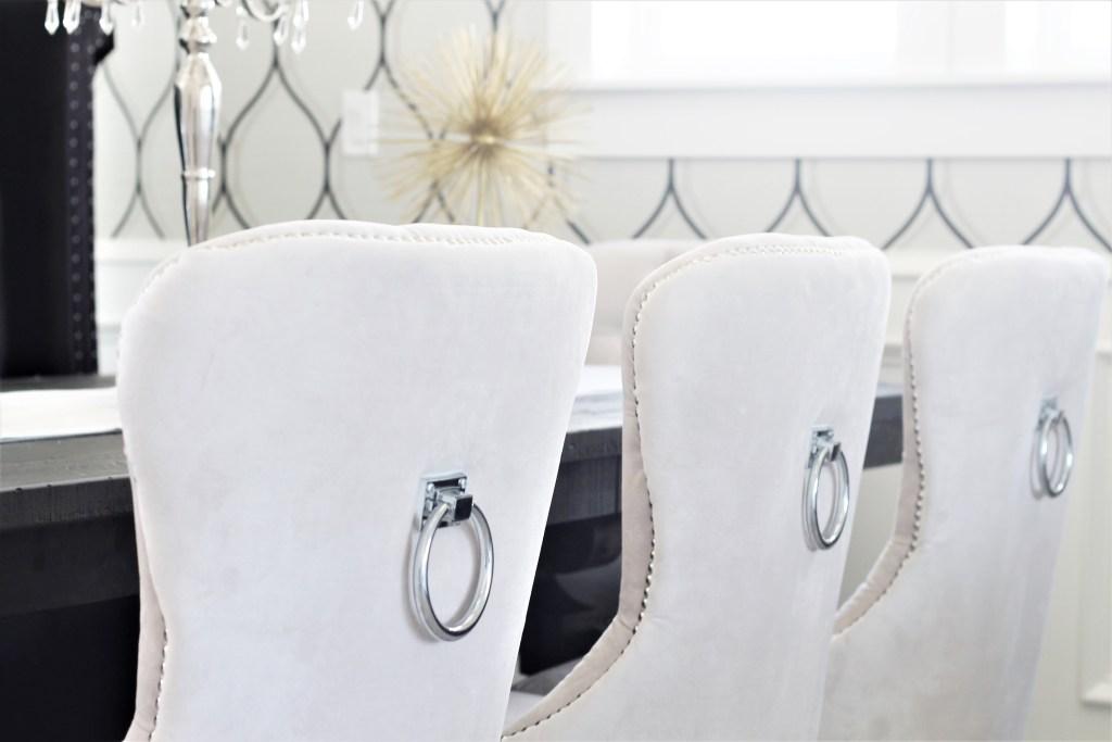 glam dining room. interior love affair