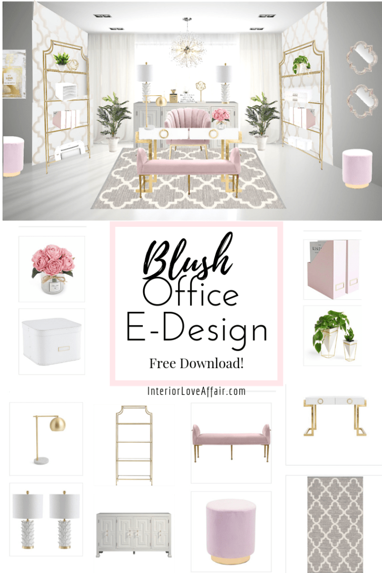 blush office e design