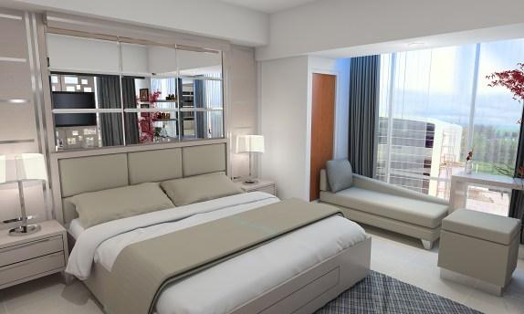 Download 3D Sketchup Desain Interior Apartement Mataram City