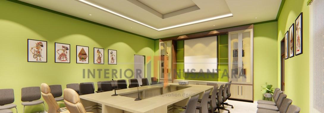 Interior Ruang Resepsionis dan Ruang Rapat Dinas Pertanahan dan Tata Ruang Kab.Bantul