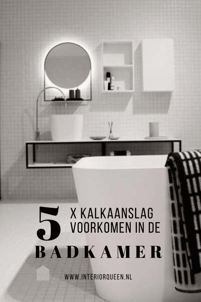 5 x kalkaanslag voorkomen op glazen douchewanden interiorqueen.nl cassandra pater
