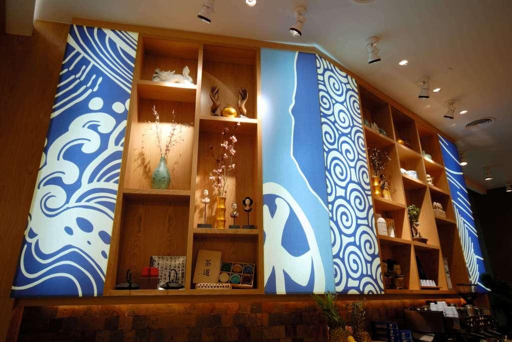 Asian Restaurant Sushi Bar Commercial Interior Design by IntertiorSense Bude Cornwall UK