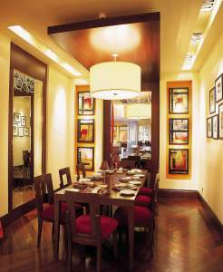 Dining Area Interiors Indian Restaurant InteriorSense Commercial Design Project Consultant Cornwall