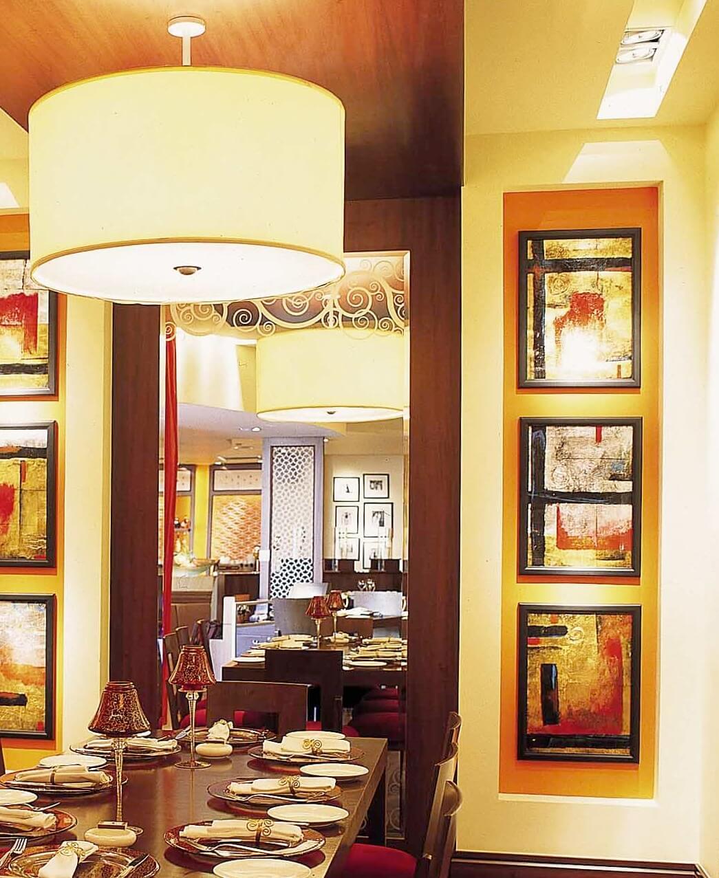 Indian Restaurant Interiors InteriorSense Commercial Design Project Consultant Cornwall