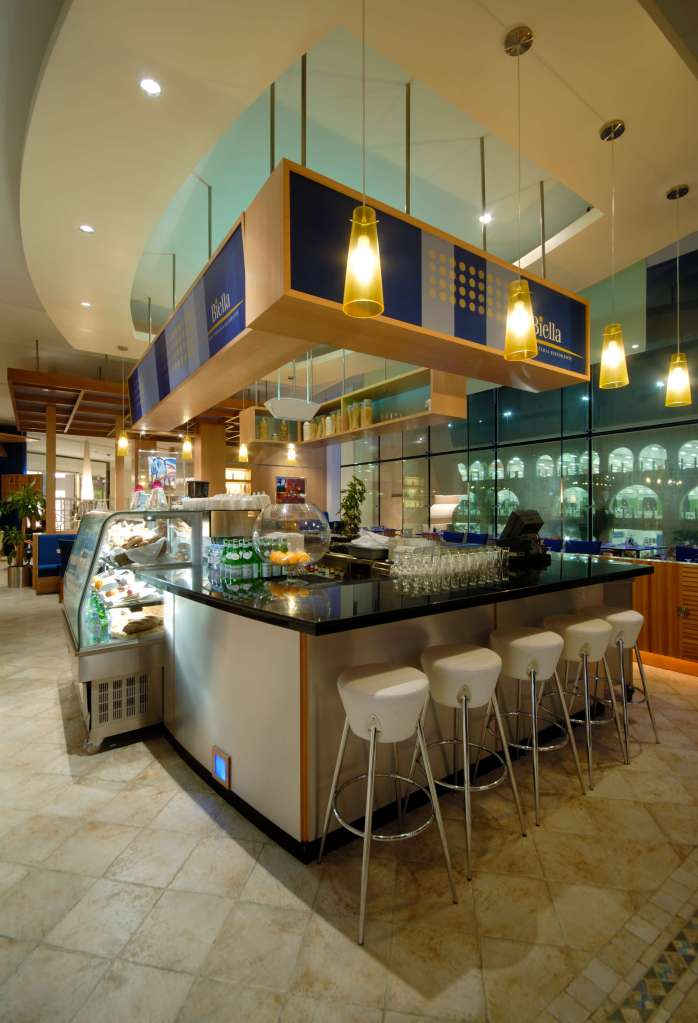 Casual Italian Restaurant and Pizzeria Interiors Commercial Design InteriorSense