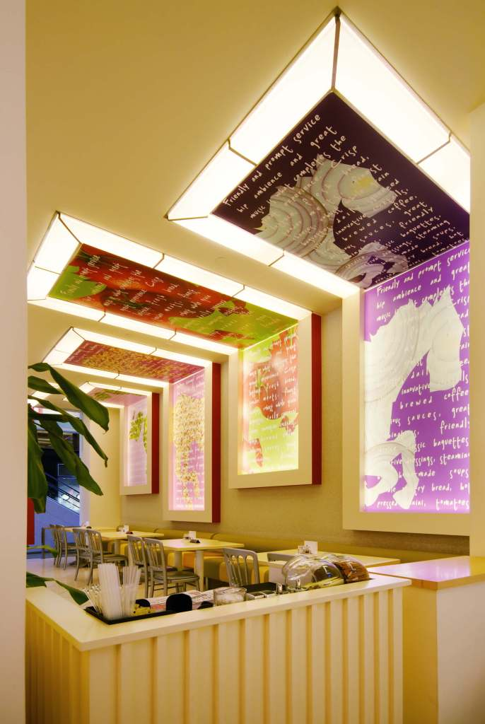 Modern Salad Bar Cafe Interiors Commercial Interior Design Project By InteriorSense Bude Cornwall UK