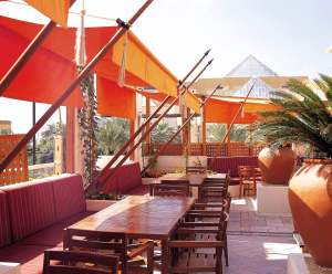 Outdoor Eating Area Interiors Indian Restaurant InteriorSense Commercial Design Project Consultant Cornwall